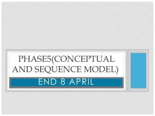 Phase5(Conceptual and sequence Model)