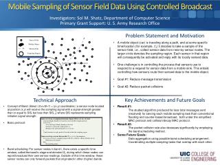 Mobile Sampling of Sensor Field Data Using Controlled Broadcast