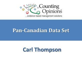 Pan-Canadian Data Set
