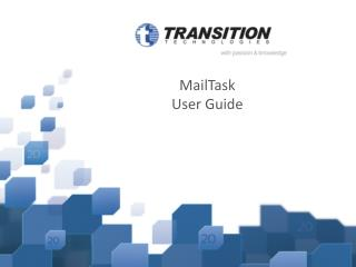 MailTask User Guide