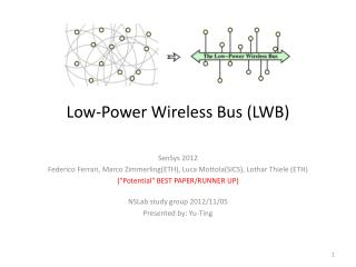 Low-Power Wireless  Bus (LWB)