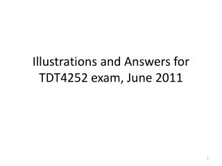 Illustrations  and  Answers  for  TDT4252  exam , June 2011