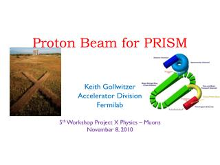 Proton Beam for PRISM