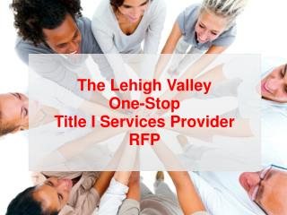 The Lehigh Valley One-Stop Title I Services Provider RFP