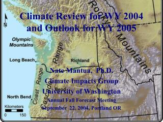 Climate Review for WY 2004 and Outlook for WY 2005