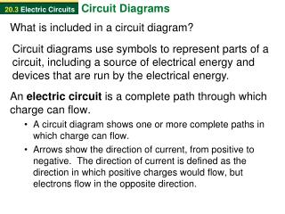 What is included in a circuit diagram?