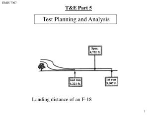 Test Planning and Analysis