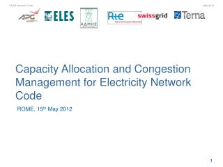 Capacity Allocation and Congestion Management for Electricity Network Code