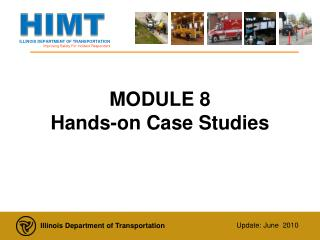 MODULE 8  Hands-on Case Studies