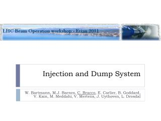 Injection and Dump System