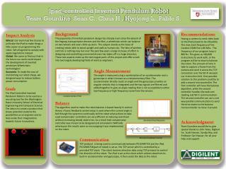 Ipad -controlled Inverted Pendulum Robot