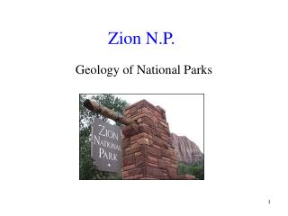 Zion N.P.