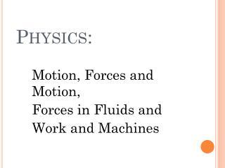 Physics:
