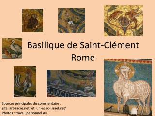 Basilique de Saint-Clément Rome