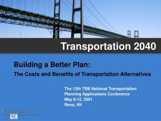 Transportation 2040