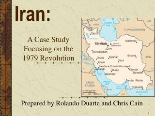 A Case Study  Focusing on the  1979 Revolution