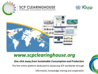 scpclearinghouse One click away from Sustainable Consumption and Production