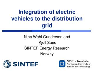 Integration of electric vehicles to the distribution grid