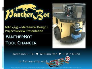 Panther B ot  T ool  C hanger