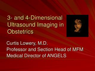 3- and 4-Dimensional Ultrasound Imaging in Obstetrics