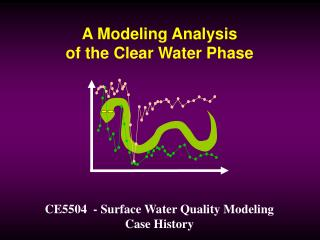 A Modeling Analysis of the Clear Water Phase