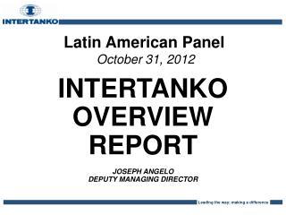 Latin American Panel October 31, 2012