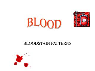 blood simple scene analysis Illustrations to help recognize the basic blood stain patterns that can be found at a crime scene spatter vs transfer: the simplest type of blood spatter analysis is determining spatters from transfers.