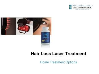 Hair Loss Laser  Treatment Home Treatment Options