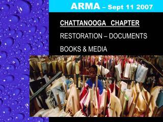 ARMA  – Sept 11 2007