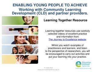 ENABLING YOUNG PEOPLE TO ACHIEVE