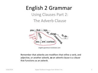 English 2 Grammar