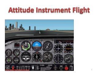 Attitude Instrument Flight
