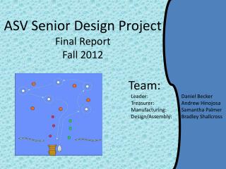 ASV Senior Design Project Final Report Fall 2012
