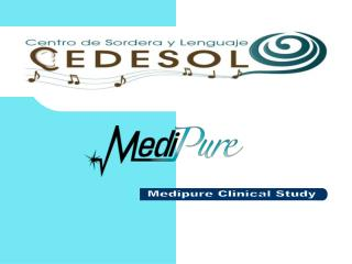 Medipure Clinical Study