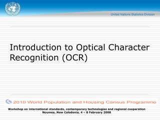 Introduction to Optical Character Recognition (OCR)