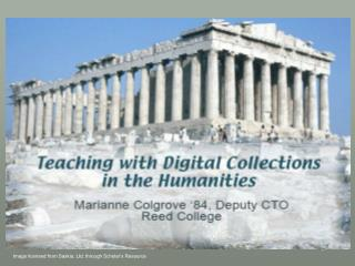 Teaching with Digital Collections in the Humanities