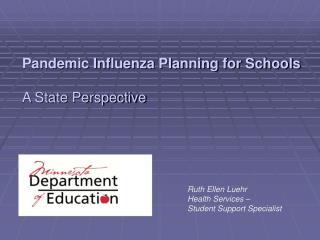 Ruth Ellen Luehr Health Services –  Student Support Specialist