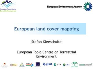 European land cover mapping