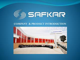 COMPANY  & PRODUCT INTRODUCTION