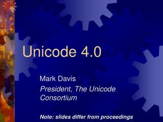 Unicode 4.0