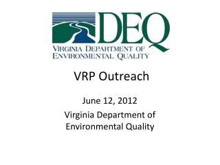 VRP Outreach