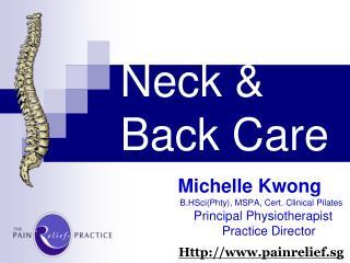 Neck &  Back Care