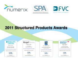 2011 Structured Products Awards