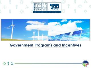 ARRA |ENERGY PROGRAMS