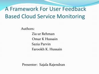 Cloud Protocols