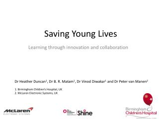 Saving Young Lives