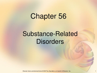 Medical Complications of Substance Abuse