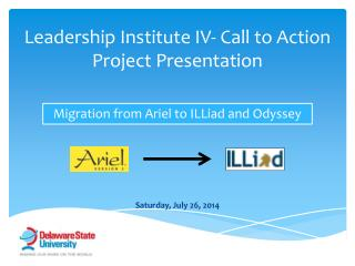 Leadership Institute IV- Call to Action Project Presentation