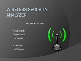 Wireless  Security  Analyzer