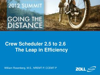 Crew Scheduler 2.5 to 2.6  The Leap in Efficiency